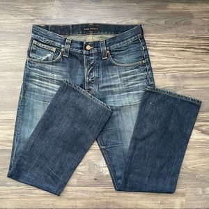 Nudie Jeans Co Button Fly Jeans